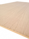 Oak Veneered MDF Crown Cut, Book Match - 2440 x 1220 x 19mm